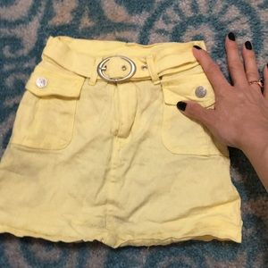 Other - Yellow skirt